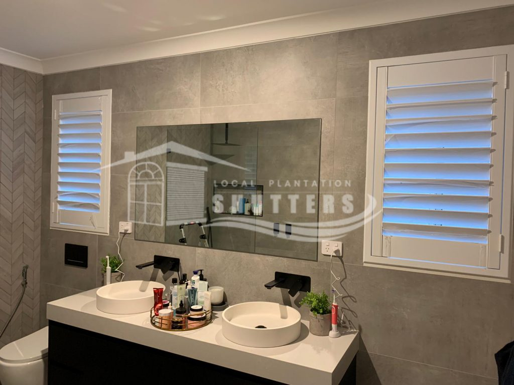 Plantation Shutters in The Hills District